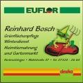 Reinhard Bosch,  Tiernahrung