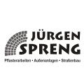 Jürgen Spreng,  Pflasterarbeiten